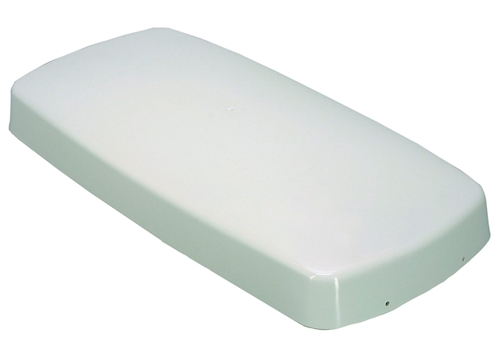 Barker 12604 Colonial White Refrigerator Vent Cap