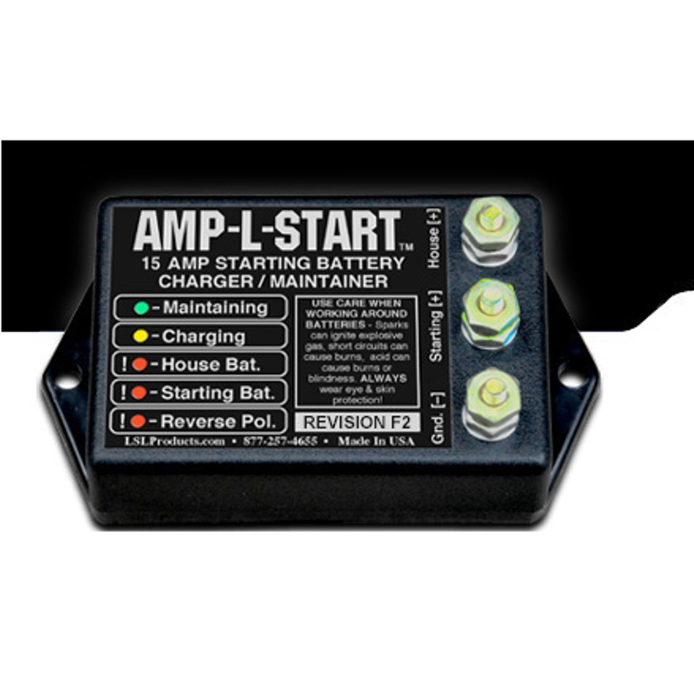 LSL Products AMP-L-START 15 Amp Starting Battery Charger