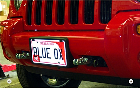 Jeep Liberty Blue Ox Base Plate