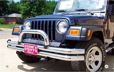 Blue Ox Base Plate Jeep Wrangler TJ