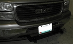 Base Plate BX1633 GMC Pickup 1500/2500/3500 For 1999 - 2002