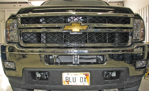 Blue Ox Base Plate Chevy Pickup 2500 & 3500 2011 - 2014 Incl HD