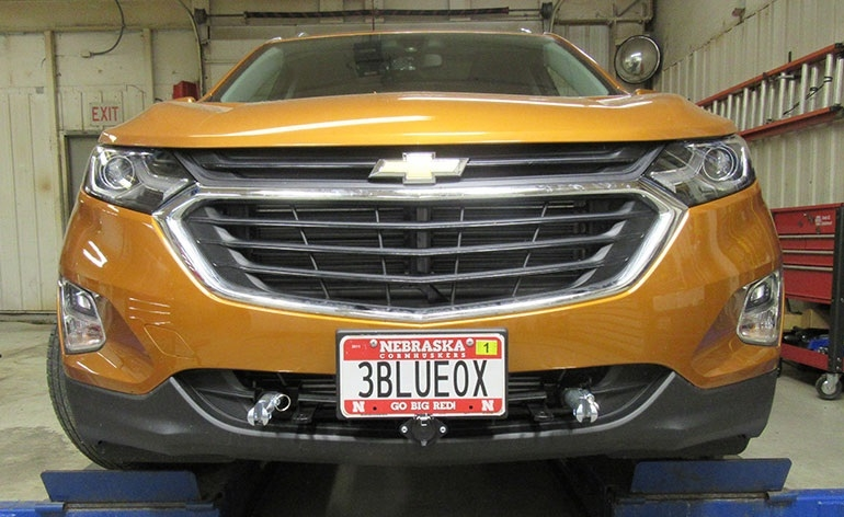 2018 Chevrolet Equinox Suspension: Blue Ox BX1730 For 2018-2019 Chevy Equinox Base Plate