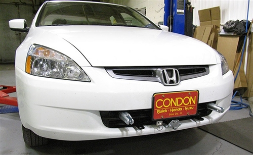 Blue Ox Honda Accord Including LX/EX/DX No Fog lights Base Plate