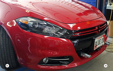Blue Ox Base Plate Dodge Dart SE/SXT/GT/Limited Includes Foglights