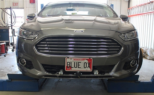 Blue Ox Base Plate Ford Fusion SE Hybrid Includes Adaptive Cruise Control
