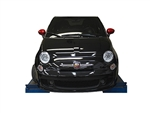 Fiat Abarth With Fog lights Baseplate