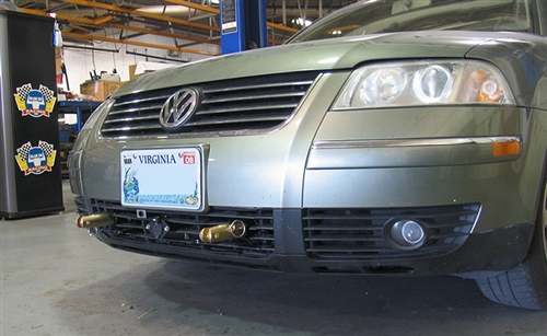 VW Passat Blue Ox Base Plate