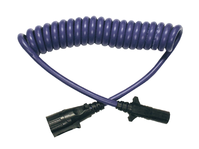 BX88206 2?1494835309 blue ox bx88206 7 way to 6 way electrical coiled cable Standard Trailer Wiring at reclaimingppi.co
