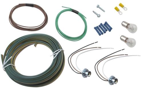 blue ox bx8869 bulb and socket tail light wiring kit rh rvupgradestore com