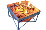 Fireside Outdoor CB001 Pop-Up Pit And Heat Shield Combo