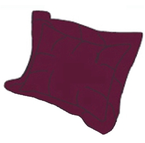 RV Superbag DLPS-BG Burgundy Matching Pillow Sham Set