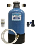 On The Go OTG4-DBLSOFT-BF Double Standard Portable Water Softener with Brass Fittings