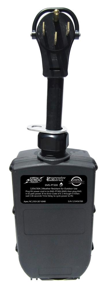Progressive Industries Ems Pt50x Portable Rv Surge