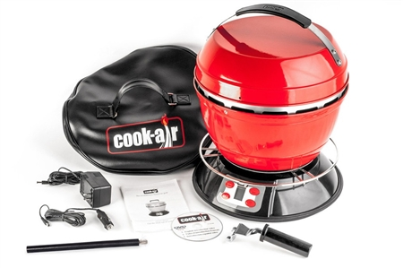 Cook Air RV Portable Grill - Red