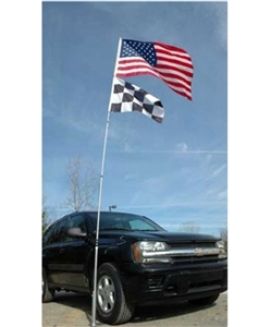 Flagpole To Go FP-21 20' Double Flag Flagpole