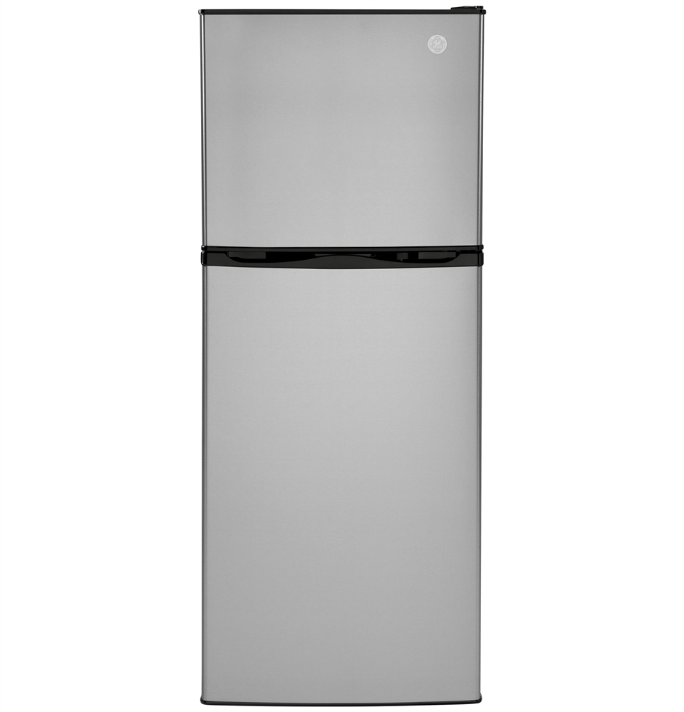 General Electric Gpv10fsnsb 9 8 Cubic Ft Top Freezer Refrigerator 12 Volt Dc Stainless Steel