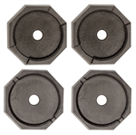 RV SnapPad HiWay-Plus Permanent RV Jack Pad - Tiffin - 4 Pack