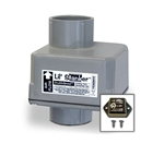 "LSL Products ILAC-1.5 120 VAC In Line Holding Tank Deodorizer Fan 1.5"" I.D."