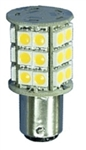 Bee Green LBA15D30CW Double Bayonet 360-Degree LED Lightbulb - 420 Lumens - Cool White