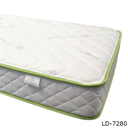 "MotorHome InnerSpace LD-7280 Luxury Deluxe 8"" Memory Foam RV Mattress - RV King"
