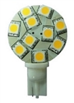 Bee Green LT10S10WW T10 Side Wedge LED Lightbulb - 127 Lumens - Warm White