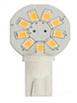 Bee Green LT10S9CW T10 Side Wedge Compact LED Lightbulb - 130 Lumens - Cool White