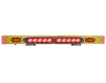 "TowMate 26"" Wireless Tow Light Bar With Lithium Technology - Diamond Tread"