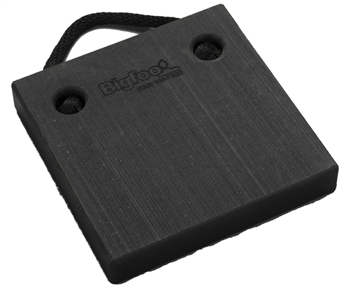 "Bigfoot P121220-BK RV Outrigger Pad - 12"" x 12"" x 2"" - Black"