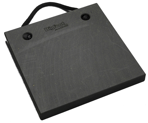 "Bigfoot P181810-BK RV Outrigger Pad - 18"" x 18"" x 1"" - Black"