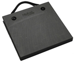 "Bigfoot P181815-BK RV Outrigger Pad - 18"" x 18"" x 1.5"" - Black"