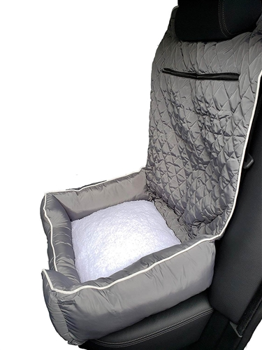 Seat Armour PET2G100G Pet Bed 2 Go Gray Pet Bed And Car Seat