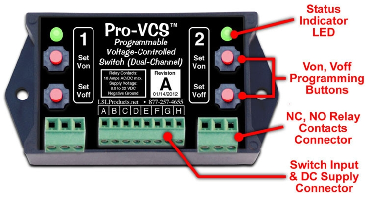 Programmable Voltage Controlled Switch