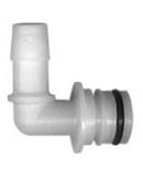 "Aquajet FQ5E-12W  1/2"" Hose Barb X 3/4"" Qd Elbow Fittings"