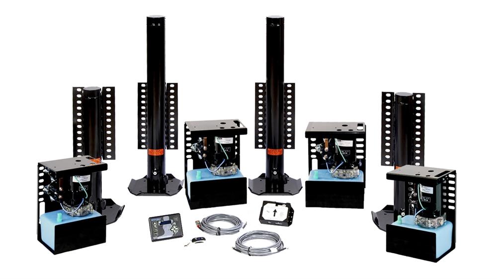 Bigfoot QEIIFA-2430 4 Cylinder Toy Hauler Automatic Leveling System