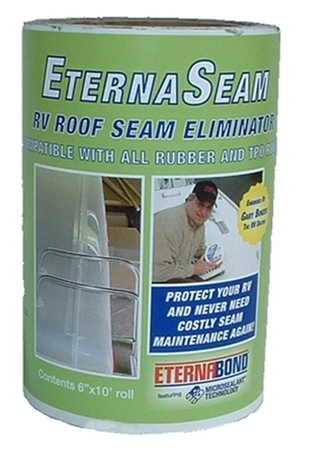 "Eternabond EternaSeam Roof Seam Eliminator - 6"" x 10' White"