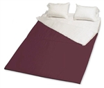 RV Superbag RVK-BG Burgundy/Red King Sleep System 200 Count Sheets