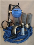 Drip Dry Spotless RV Water Filter And Wash System