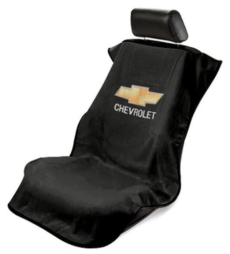 Seat Armour SA100CHVB Chevrolet Car Seat Cover - Black