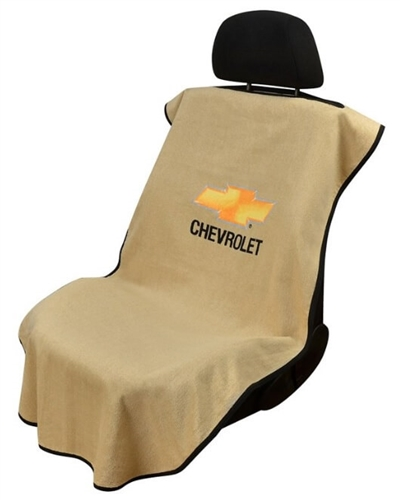 Seat Armour SA100CHVT Chevrolet Car Seat Cover - Tan