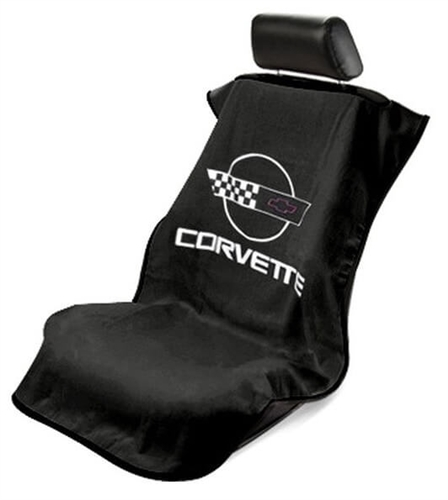 Seat Armour SA100COR4B Corvette Car Seat Cover - Black