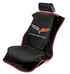 Corvette C6 Seat Armour Black SA100COR6B