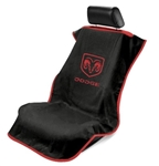 Seat Armour SA100DODB Dodge Seat Cover, Black