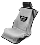 Seat Armour SA100JEPGG Jeep With Grille Seat Cover, Grey