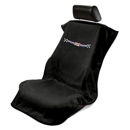 Mini British Checkered Flag Seat Armour SA100MINICHK