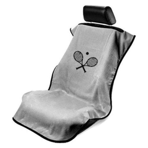 Gray Car Seat Towel Cover