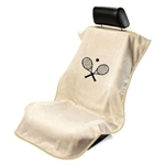 Seat Armour SA100TRCQT Tennis Racquet Seat Cover, Tan