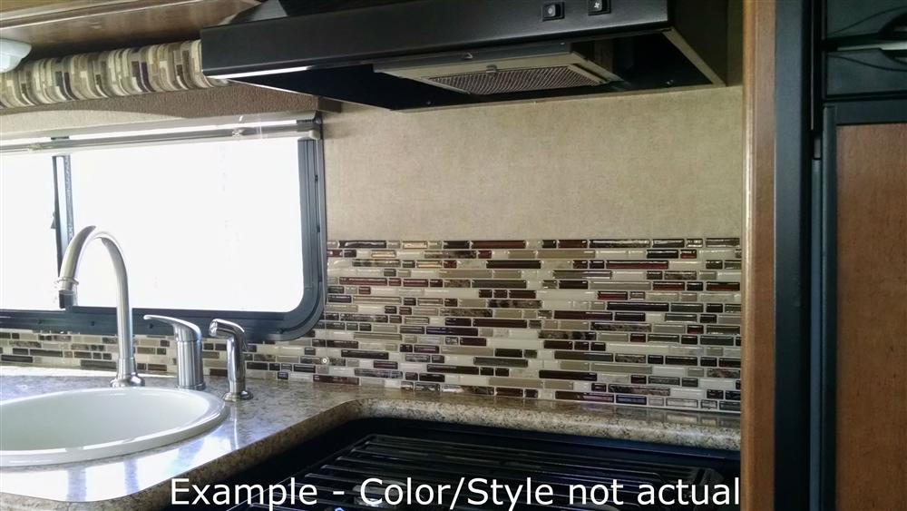 Smart Tiles Sm1034 4 Peel And Stick Mosaic Tile Rv Backsplash