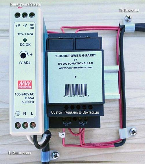 Rv Diesel Generator >> Shorepower Guard Emergency Rv Generator Auto Start Diesel