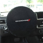 Seat Armour SWA100DODB Dodge Logo Steering Wheel Cover Protector